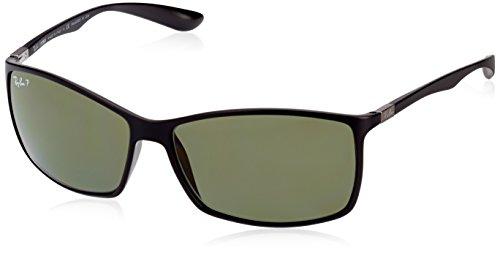 Ray-Ban Sunglasses - RB4179 Liteforce / Frame: Matte Black Lens: Polarized Green