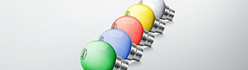 Syska 0.5W LED Bulb (Multicolor, Pack Of 24)