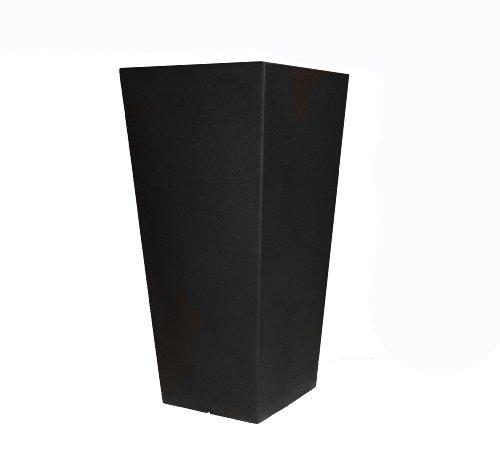 tusco-products-ctu26bk-cosmo-tall-planter-black-26-inch