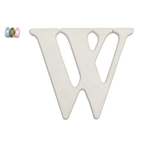 Koala Baby Uppercase Wall Letter W - White - 1