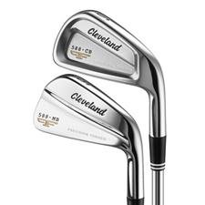 Cleveland Golf 588 Forged MB/CB Iron Set - 3-PW - Dynamic Gold Steel Shaft Stiff Flex - Right Hand