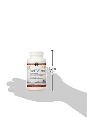 Nordic Naturals ProEPA Xtra Diet Supplements, 120 Count, Lemon