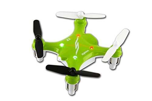Syma-X12-Nano-6-Axis-Gyro-RC-Quadcopter-Mini-Drone-RTF-UFO-Aircraft-Color-Green