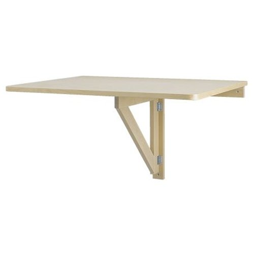 Ikea Wall-Mounted Drop-leaf Folding Table: