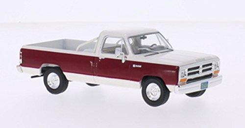 dodge-ram-bianco-rosso-scuro-1987-modello-di-automobile-modello-prefabbricato-whitebox-143-modello-e