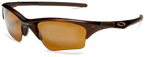 Oakley Men's Half Jacket XLJ Iridium Sunglasses