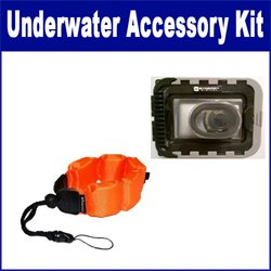 Vivitar ViviCam 5024 Digital Camera Underwater Accessory Kit Includes: Waterproof Camera Case and a Floating Foam Strap