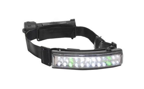Foxfury 400-Ff417-5 Performance Intrinsic Tasker-Fire Led Helmet Light With Silicone Strap, 50 Lumens
