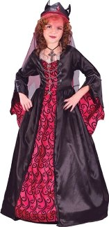 Bride of Satan Costume: Girl's Size Large 12-14