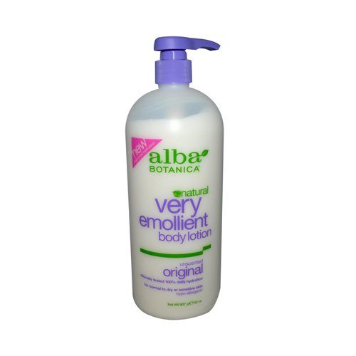 Alba Botanica Very Emollient Body Lotion Unscented - 32 fl