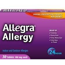 Allegra allergie 24 heures, 30 CT (Pack de 1)