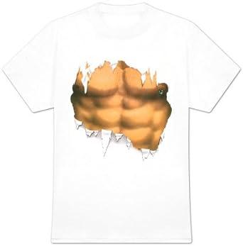 Modicana® T-Shirt - Waschbrettbauch - Funshirt lustig, Größe:S