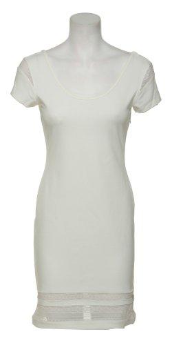 RAMPAGE Stretch Jersey & Lace Trim Dress [420885/40742], IVY, LRG