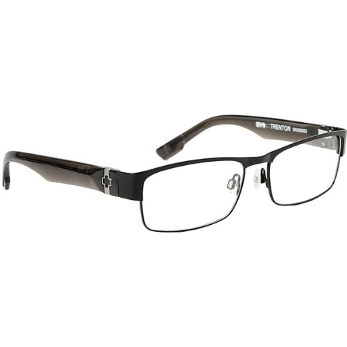 Spy Optic Trenton Rx Eyeglasses - Spy Optic Adult Rx Optical Frame - Matte Black/Smoke / Size 55-16-140 front-276218