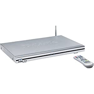 D-Link DSM-320 Wireless Media Player, Audio/Photo/Video, 802.11g