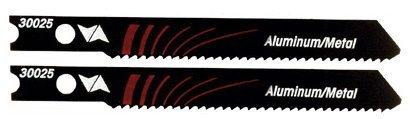Vermont American 30025 U Shank 2-3/4-Inch 17TPI High Speed Steel Metal Cutting Jigsaw Blade, 2-Pack