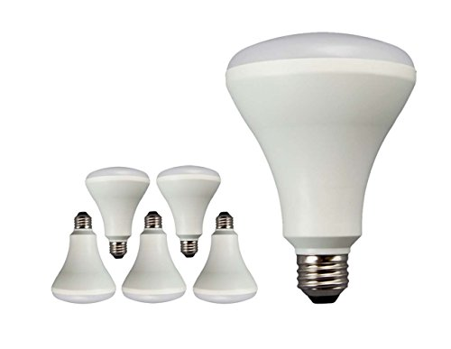 New TCP 65 Watt Equivalent 6-pack LED BR30 Flood Light Bulbs, Non-Dimmable Daylight White LBR306550KND6 (Tcp Led Bulbs compare prices)