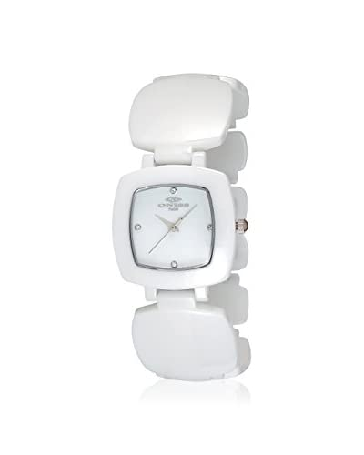 Oniss Women's ON8050-L/WT Beauty Collection White High-Tech Ceramic Watch