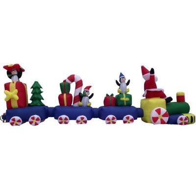 Christmas Inflatable Train front-960857