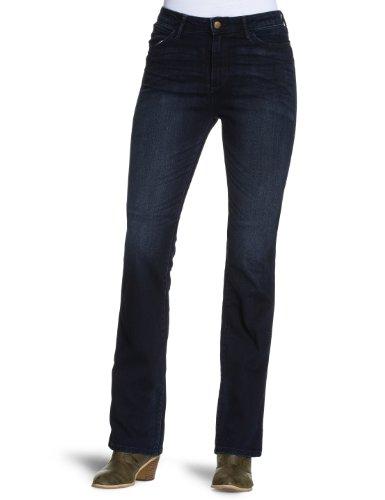billig wrangler damen jeans hoher bund w24275332. Black Bedroom Furniture Sets. Home Design Ideas