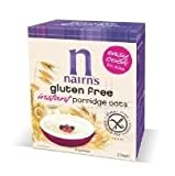 THREE PACKS of Nairns Gluten Free Instant Porridge 216g