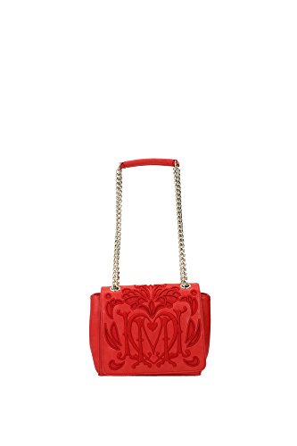 Umhängetasche Love Moschino Damen PVC Rot und Gold JC4104PP11LL0500 Rot 8x15x19 cm thumbnail
