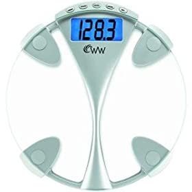 NEW CONAIR WW43D WEIGHT WATCHERS(R) GLASS MEMORY PRECISION SCALE
