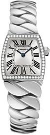 Cartier La Dona Diamond 18kt White Gold Ladies Watch WE60039G