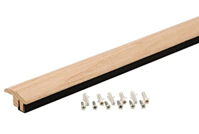 M-D Building Products 48905 72-Inch Hardwood Transition with Snap Track Tile to Laminate