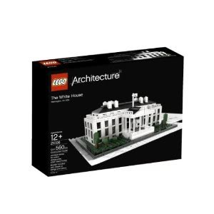 Toy / Game Educational LEGO Architecture White House (21006) - Booklet With Details On Design And History