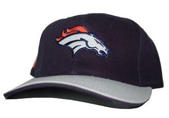 Buy NFL Sports Specialties Denver Broncos Hat-Navy White Velcro by NFL