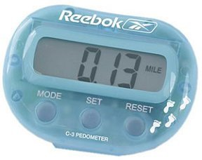 Cheap Impulse C3 (C-3) Pedometer-Distance, Step and Calorie Pedometer (Reebok) (B000S1JR3C)