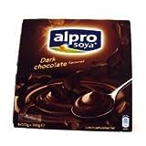 Alpro Soya Dark Chocolate Dessert 4 x 125g 500g