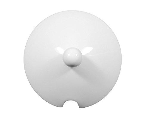 Couvercle pour bol avec couvercle blanc uni lido 00003 de la marque seltmann weiden