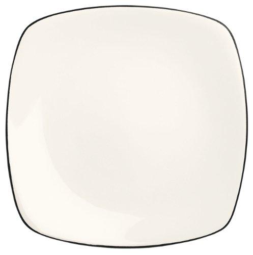 Noritake Colorwave Square Platter, 11-3/4-Inch, Graphite