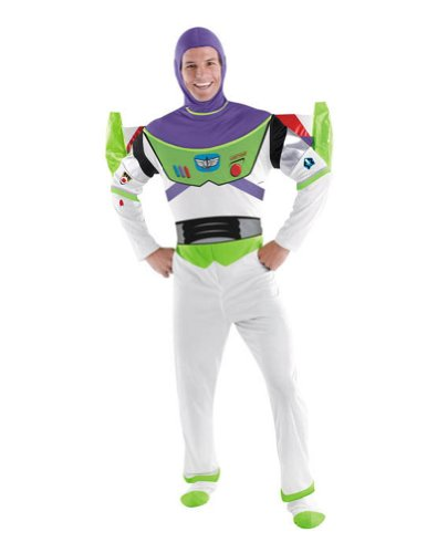 Buzz Lightyear Deluxe Adult Xl Adult Mens Costume