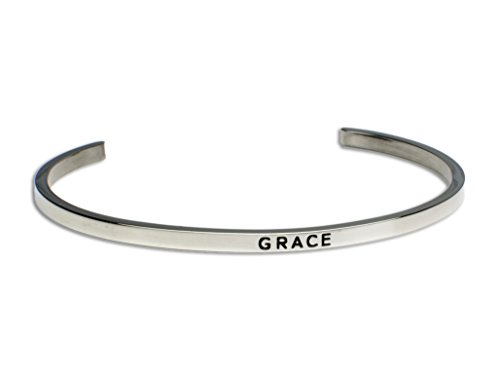 Grace:Gift for Her,Mantra Bracelet, Inspirational gift,100% Guaranteed,Perfect Gift.