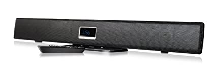 Ematic-ESB210-Ultra-Slim-2.1-Channel-Wireless-Soundbar-with-Bluetooth-and-LED-Display-(Black)