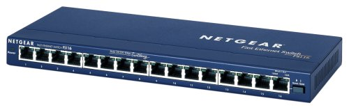 Netgear FS116GE Fast-Ethernet-Switch