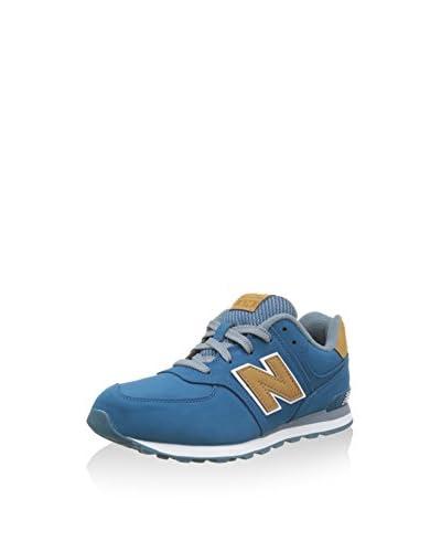New Balance Sneaker NBKL574DWG [Blu]