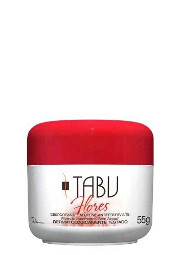 Tabu Flores タブ・フラワ デオドラントクリーム 55g