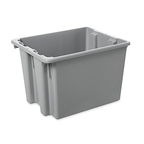 Rubbermaid Commercial FG172200GRAY HDPE Stack and Nest Palletote Lid, 19.5-inch, Gray (Rubbermaid Spatula 1933 compare prices)