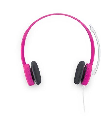 Logitech H150 Stereo Kopfhörer preiselbeere