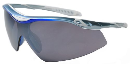 JiMarti TR22 Sport Wrap TR90 Sunglasses UV400 Unbreakable Protection for Cycling, Ski or Golf