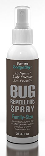 Body-Friendly Insect Repellent - All Natural, Anti Bug Spray For Your Family - Deet Free - Safe For Kids, Dogs, And Plants - Repels Mosquitoes, Gnats, Biting Flies, Fleas, & Ticks - Essential Oil - Eco-Friendly Bottle - 100% Money Back Guarantee