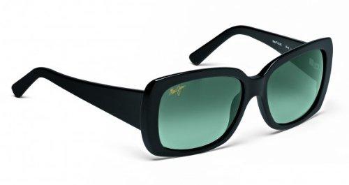 Maui Jim Pau Hana HTS238-15 Polarized Round Sunglasses,Dark Tortoise & Green Frame/Maui Hot Lens,One Size
