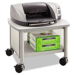 -- Impromptu Under Table Printer Stand, 20 1/2w x 16-1/2d x 14-1/2h, Gray/Gray