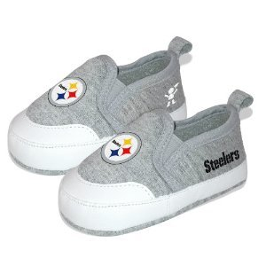 NFL Pittsburgh Steelers Baby Pre-Walk Shoes (Size 4)