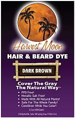 Natural Dark Brown Hair Dye (100 Grams)