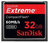 SanDisk SDCFX-032G-A61 Extreme 32GB Compact Flash